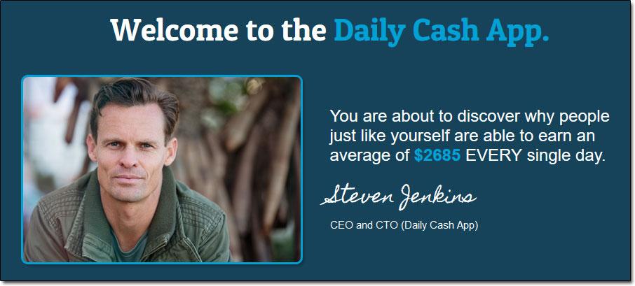 Steven Jenkins of the Daily Cash App