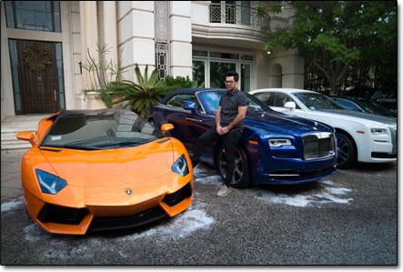 Tai Lopez Cars