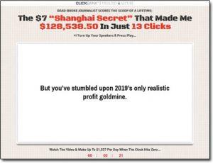 Club Shanghai Website Screenshot