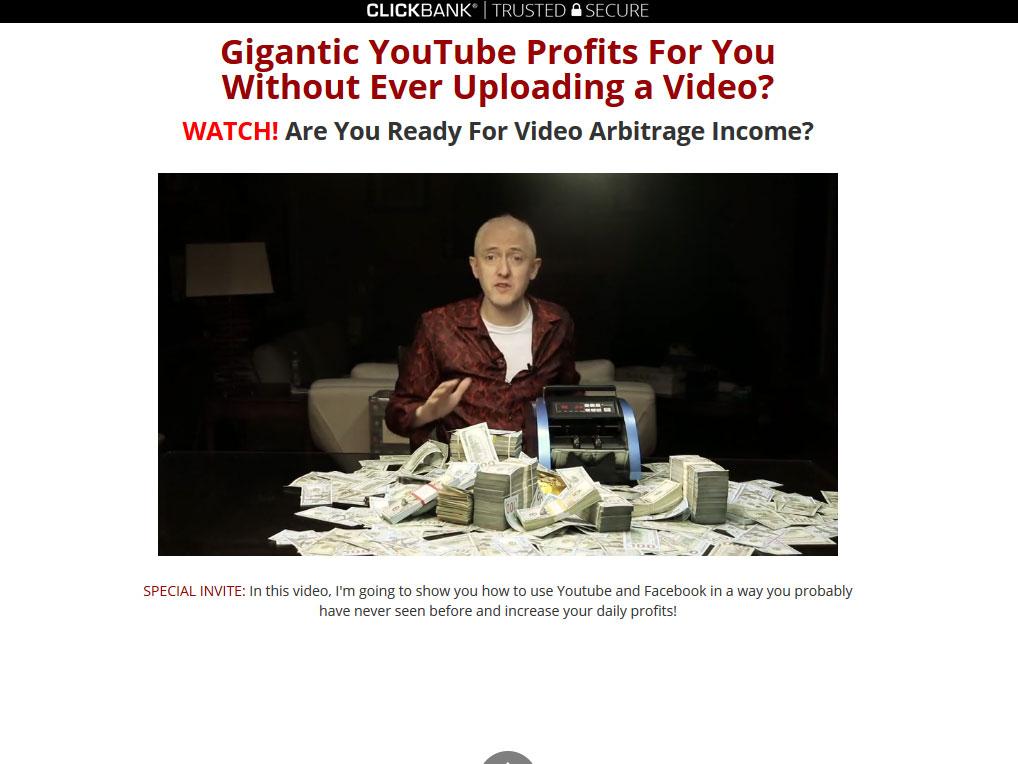 Profit Injector System Website Screenshot