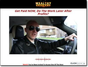 Wealthy Agency System Website Screenshot