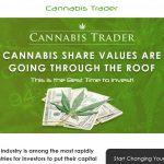 Cannabis Trader System Website Screenshot