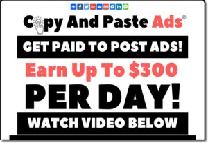 Copy And Paste Ads System Website Screenshot