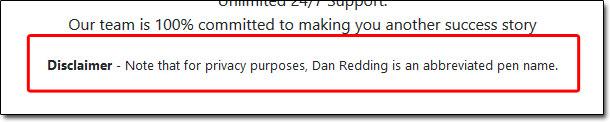 Dan Redding Pen Name