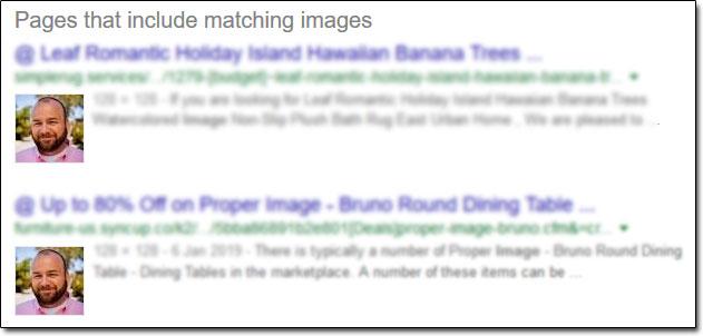 David Legg Reverse Image Search Results