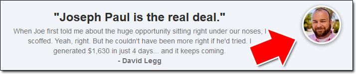 David Legg Insta Profit Hack