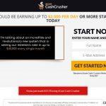 Ecom Cash Crusher Website Screenshot