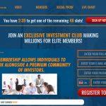 Elite Entrepreneur Club Software Website Screenshot