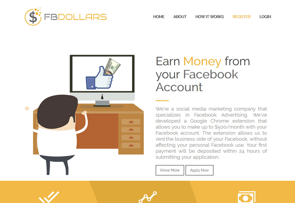 FB Dollars Review - Scam or Legit Way To Earn Money With