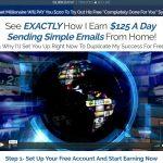 Instant Email Empire System Website Screenshot