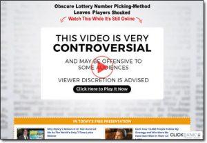 Lotto Annihilator System Website Screenshot