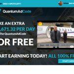 Quantum Ad Code Website Screensot