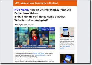 RetailRiches.org Website Screenshot