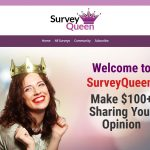 Survey Queen Website Screenshot