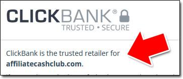 Affiliate Cash Club ClickBank
