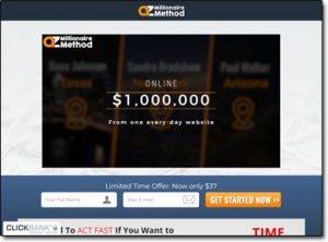 AZ Millionaire Method Website Screenshot