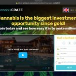 CannabisCRAZE System Website Screenshot