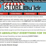 Store Buildr Done For Your Niche Websites Screenshot