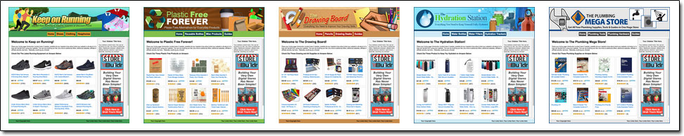 Store Buildr Websites