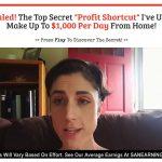 The Profit Shortcut System Website Screenshot