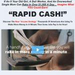 Amazing Rapid Cash System Website Screenshot