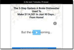 Broke Dishwasher System Website Screenshot