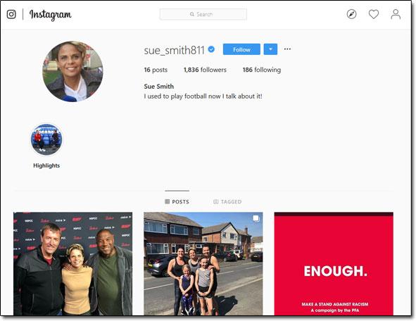 Instagram Profile Screenshot