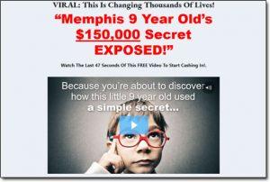 Kid Fortunes System Website Screenshot
