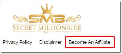 Secret Millionaire Bot Affiliate