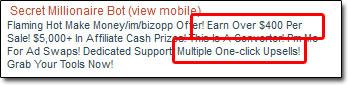 Secret Millionaire Bot ClickBank Listing