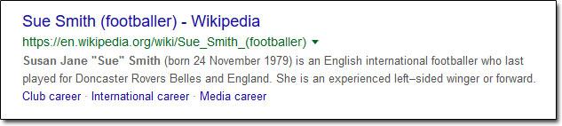Sue Smith Footballer Wikipedia