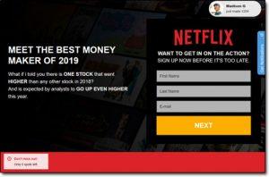 NetflixSoft System Website Screenshot