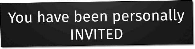 Smart Profit App Personal Invite
