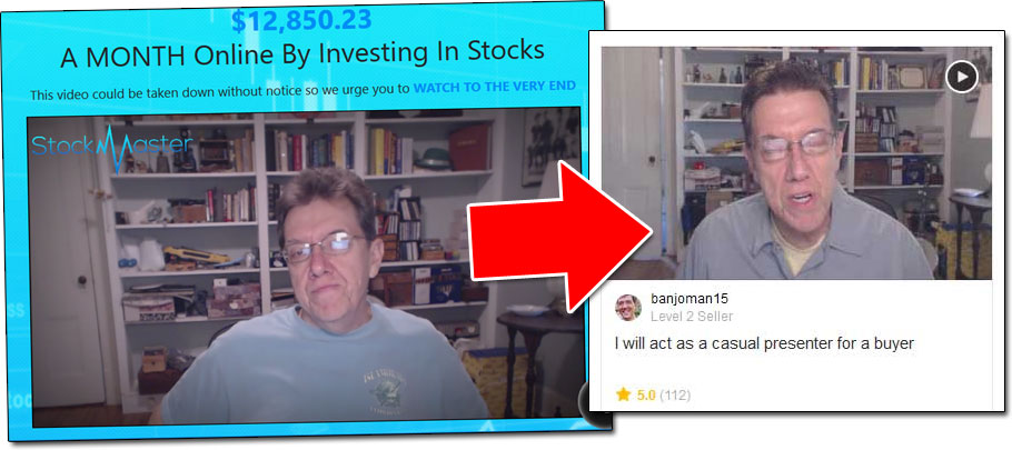 Stock Master Fiverr Actor