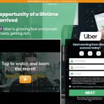 Trade Uber System Website Screenshot