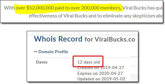 Viral Bucks Payout Claim