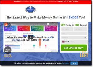 Adflippers Website Screenshot