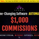 Auora System Website Screenshot