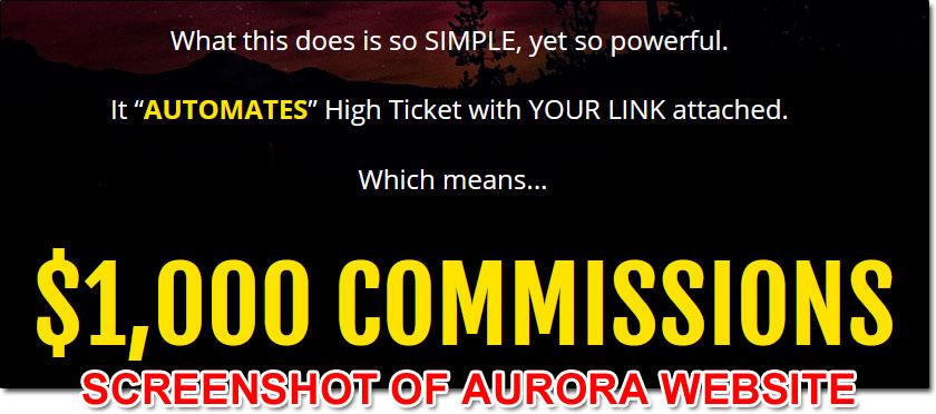 Aurora System Income Claim