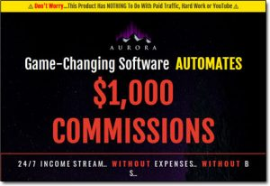 Aurora System Website Screenshot