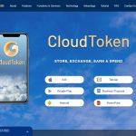 Cloud Token Wallet Website Screenshot