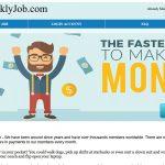 DoWeeklyJob.com Website Screenshot