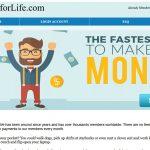 My Work For Life Website Screenshot