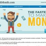 PayEachMonth.com Website Screenshot