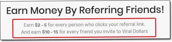 Referral Pay Income Claim