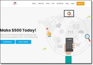 Referral Pay Website Screenshot
