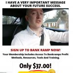 Bank Ramp System Website Screenshot