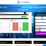 Crypto Revolt Website Screenshot