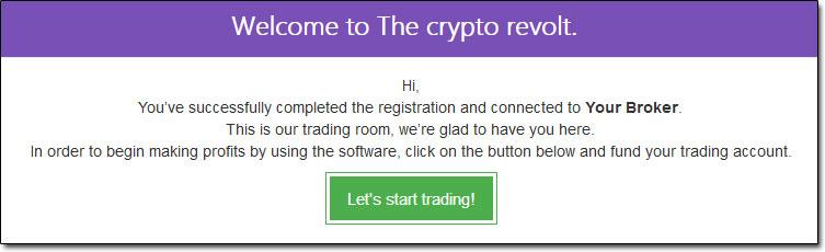 Crypto Revolt Broker Registration