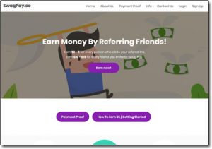 SwagPay Website Screenshot